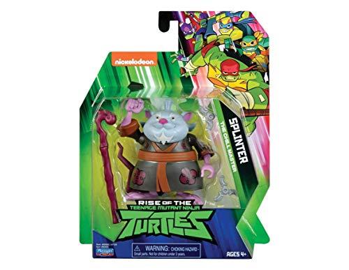 Teenage Mutant Ninja Turtles The Rise of The Basic Action Figures - Splinter 'Sensei Master']()