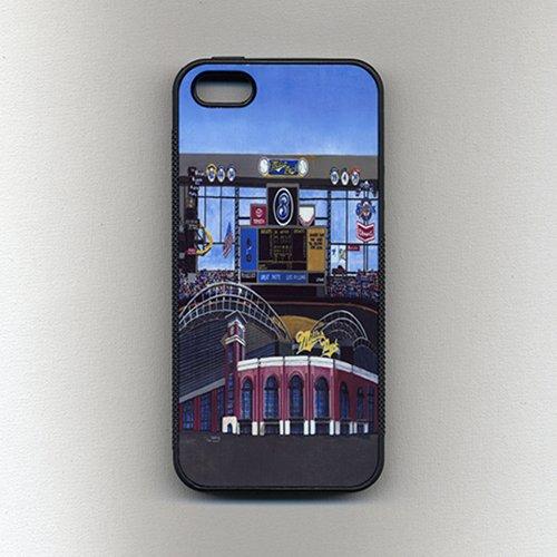 huge selection of 181de 8d61c Amazon.com: Cell Phone Case - Milwaukee Sports - Baseball - Miller ...