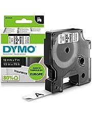 DYMO D1-etiketten zelfklevend (zwarte print op witte ondergrond, 12 mm x 7 m, voor LabelManager-etikettenprinter, authentiek product)
