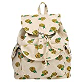 Best EcoCity Cool Backpacks - MRstriver Women Backpack Canvas Girl's School Bag Watermelon Review