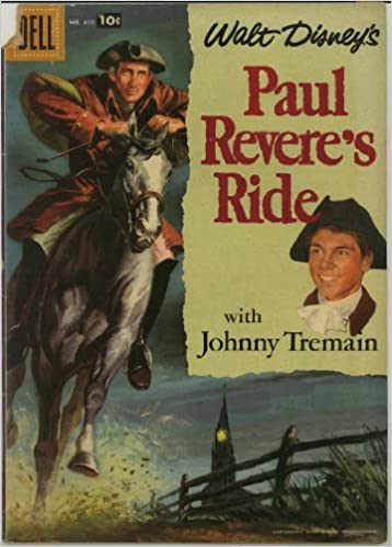 Image result for paul revere's ride comic book