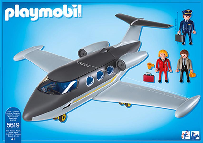 Kids will love assembling their very own private jet and taking to the