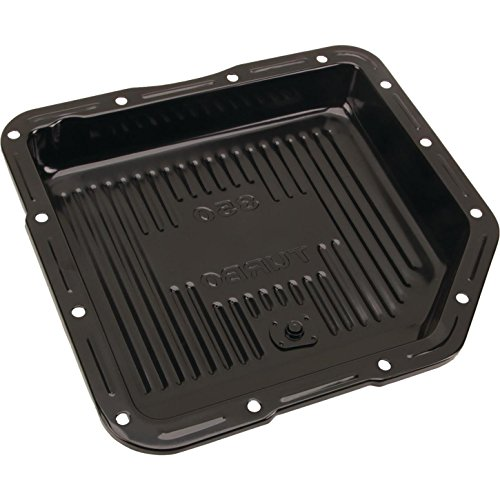 (Black Steel GM TH-350 Transmission Pan, 2 Inch Deep )