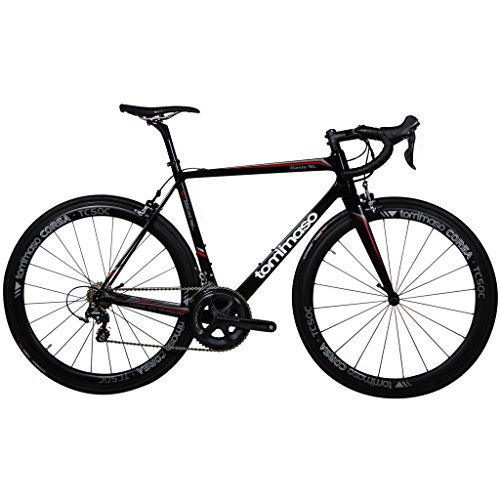 Tommaso Gavia SL Carbon Road Bike, Full Shimano Ultegra 6800, Italian Racing Bike - Small Tommaso