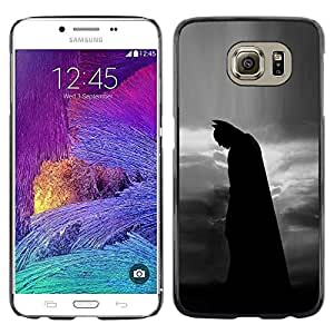 Exotic-Star ( Night Black Man Movie Character ) Fundas Cover Cubre Hard Case Cover para Samsung Galaxy S6 / SM-G920 / SM-G920A / SM-G920T / SM-G920F / SM-G920I