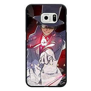 Cool Shinichi Kudou Detective Conan Phone Case for Samsung Galaxy S6 Edge Mystery Anime TV