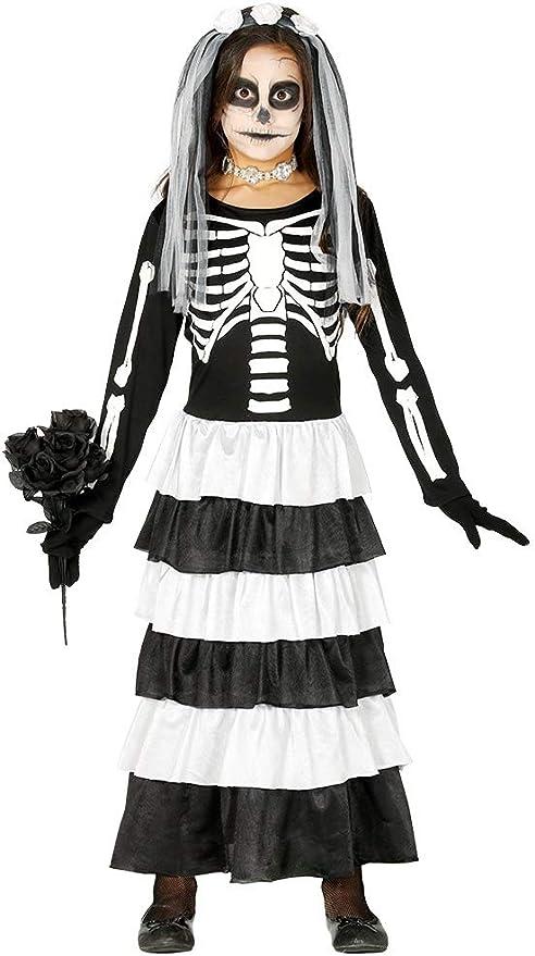 FIESTAS GUIRCA Disfraz de Novia Esqueleto cadáver Fantasma Zombie ...