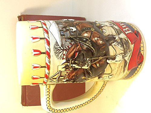 1986 Budweiser Holiday Stein CLYDESDALE