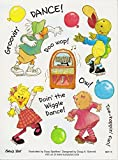 Suzy's Zoo Multiple Character Dance Stickers 6 inches by 4.5 inches