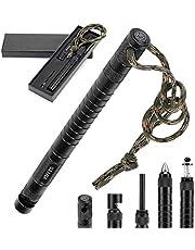 Survival Multi-Tool with Fishing Tool, Fire Starter, Survival Whistle, Window Breaker ,Bottle Opener for Everyday Carry Survival Gear for Men