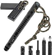 Survival Multi-Tool with Fishing Tool, Fire Starter, Survival Whistle, Window Breaker ,Bottle Opener for Every