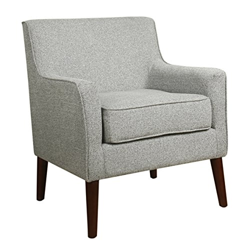 Ash Chair Accent - Spatial Order Kaufmann Modern Accent Chair, Ash Gray