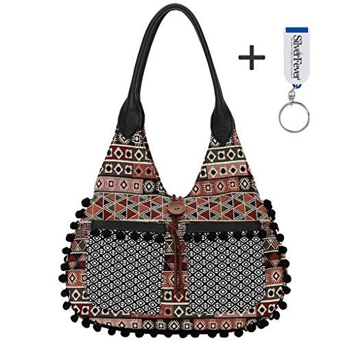 American West Bandana Slouch Hobo Handbag