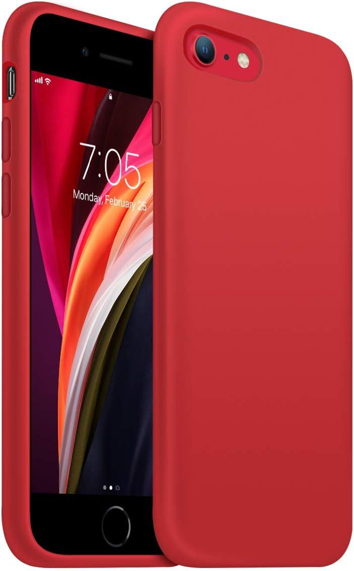 OUXUL iPhone SE 2020 Case,iPhone 7/8 Phone case,iPhone 7 case Liquid Silicone Gel Rubber Phone Case,iPhone SE 2020/8/7 4.7