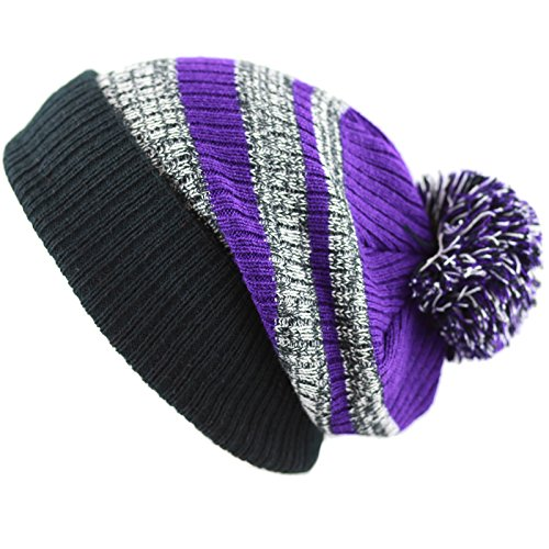 9633b4dc4c959 Colors Unisex Striped Cuffed Beanie