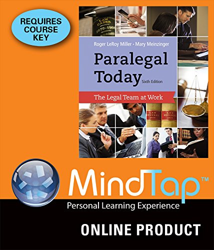 mindtap-paralegal-for-miller-meinzingers-paralegal-today-the-legal-team-at-work-6th-edition