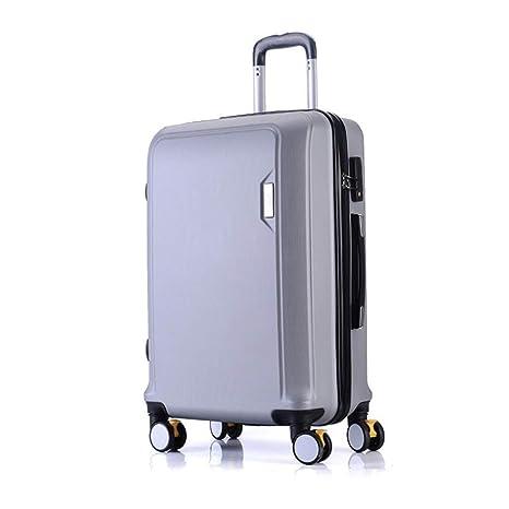Maleta, Moda para mujer Estuche universal con ruedas para trolley ABS Maleta liviana Bolsa de equipaje ...