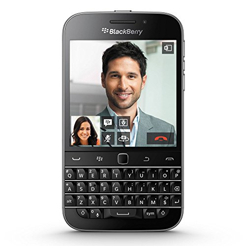 BlackBerry Classic SQC100-4 16GB Unlocked GSM 4G LTE Keyboard Smartphone w/ 8MP Camera - Black