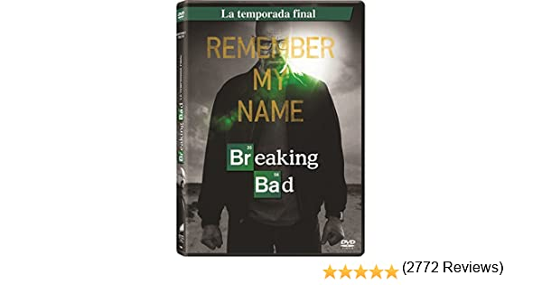Breaking Bad Temporada Final (3) [DVD]: Amazon.es: Bryan Cranston, Aaron Paul, Anna Gunn, Vince Gilligan, Bryan Cranston, Aaron Paul, Vince Gilligan: Cine y Series TV