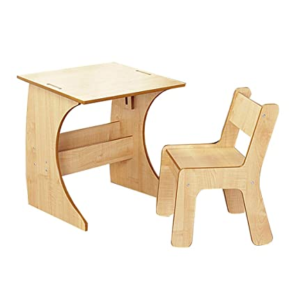 Mesa de estudio y silla escritorio para estudiantes mesa de jardín ...