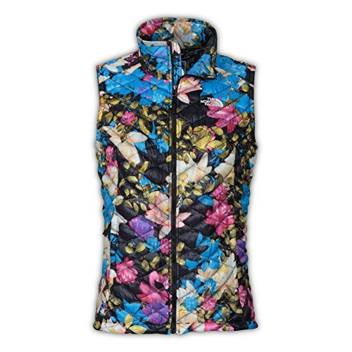 The North Face women's AUTHENTIC ThermoBall Insulated Vest FLORAL