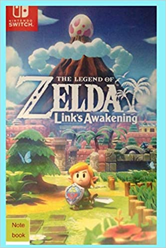 Nintendo switch The Legend of Zelda Links Awakening note book ...