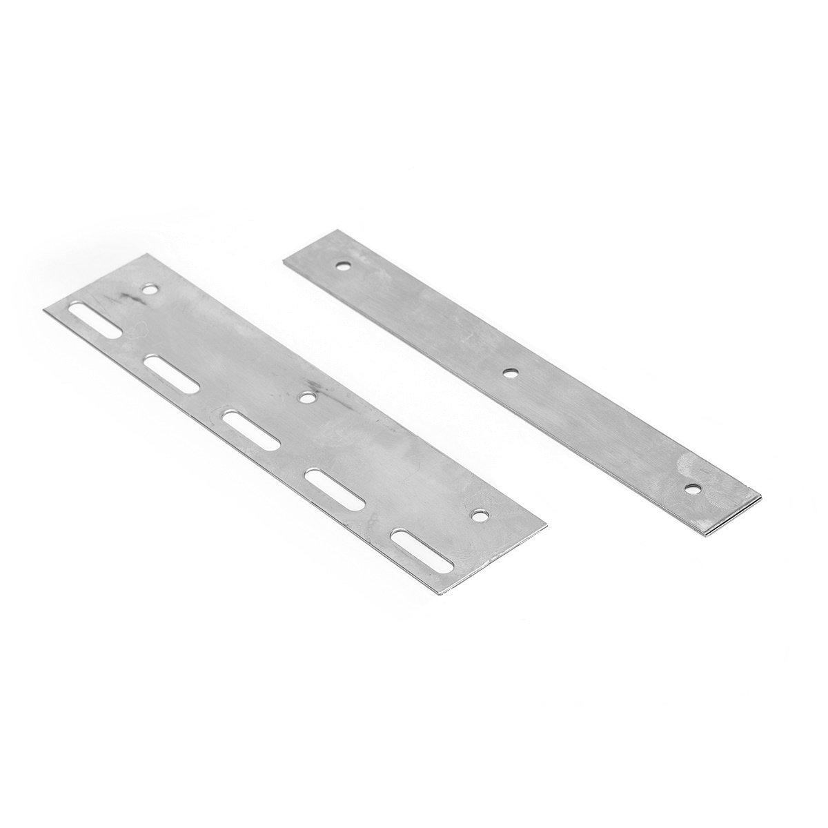 Befestigungsplatte f/ür Lamellen Lamellenvorhang PVC-Streifenvorhang L/änge 20cm