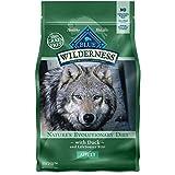 Blue Buffalo Wilderness Grain Free Dry Dog Food, Duck Recipe, 4.5-Pound Bag