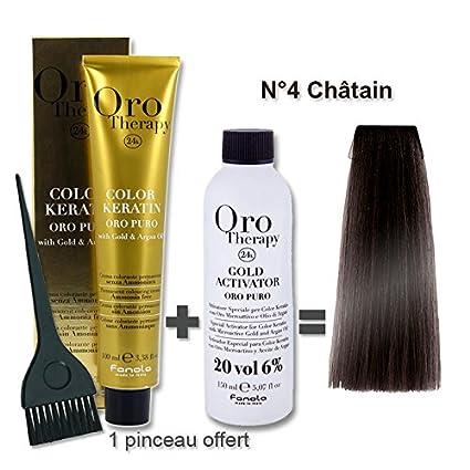 Oro Therapy - Lote de coloración para el cabello (tinte de 100 ml + ...