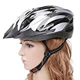 EverTrust(TM) New Men Woman Cycling Mountain Road MTB Bicycle Bike Bike Handsome Carbon Helmet of with Visor Adult