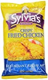 Sylvia's Crispy Fried Chicken Mix, 10-Ounce Packages (Pack of 9)