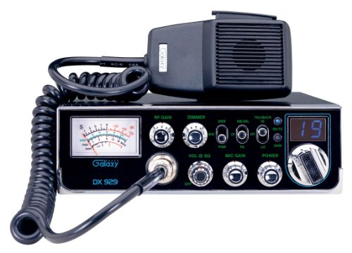 (Galaxy DX-929 40-Channel CB Radio with StarLite Faceplate)