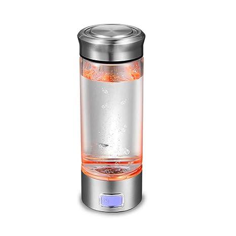 Amazon.com: Botella de agua portátil de hidrógeno de alta ...