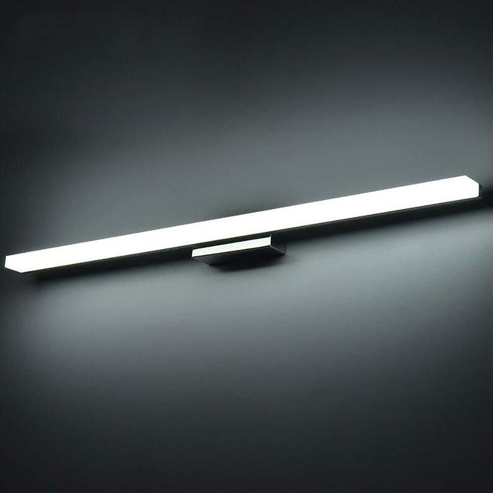 Kairry LED Spiegel Bad Badezimmer Spiegel Leichtes Make-up Wand Lampe Einfach Moderne Spiegel Schrank Lampe,120Cm Weiß