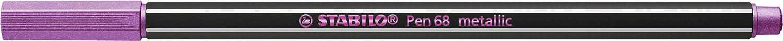 Premium-Metallic-Filzstift 5 Farben 6er Pack STABILO Pen 68 metallic