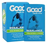 Good Clean Love Rebalance Personal Moisturizing & Cleansing Wipes (12 Individual Wipes - 8'x5')