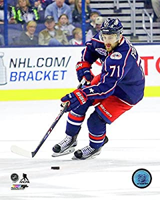 "Nick Foligno Columbus Blue Jackets 2014-2015 NHL Action Photo (Size: 8"" x 10"")"