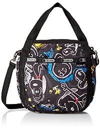 LeSportsac 8056 G057 Small Jenni Crossbody Bag, Chalkboard Snoopy, One Size