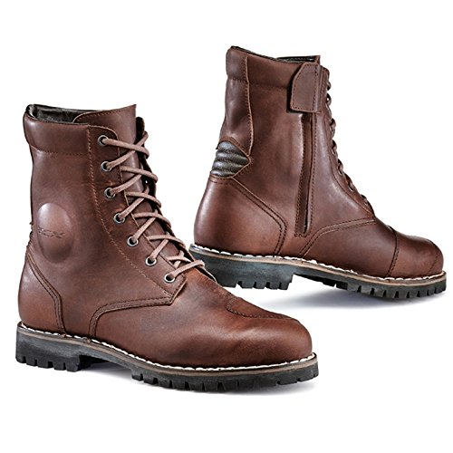 (TCX Hero Men's Street Motorcycle Boots - Vintage Brown/Eu 46 / Us 12 )