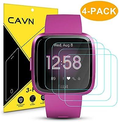 CAVN Protector de Pantalla para Fitbit Versa/Fitbit Versa Lite ...