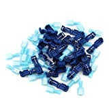 Dolland Quick Splice Wire Connectors T-Tap Electrical Connector Assortment Kit With Case,Blue
