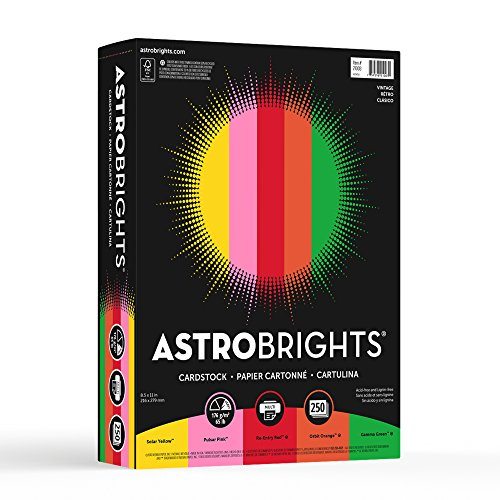 Neenah Paper Astrobrights Cardstock, 8.5