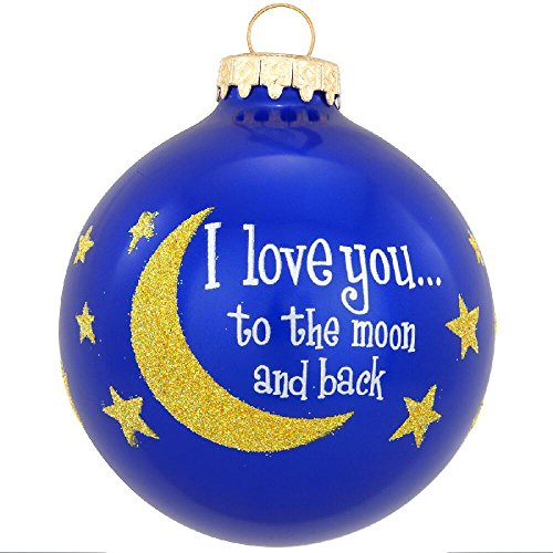 Love You to the Moon Celebrate Adoption Ornament