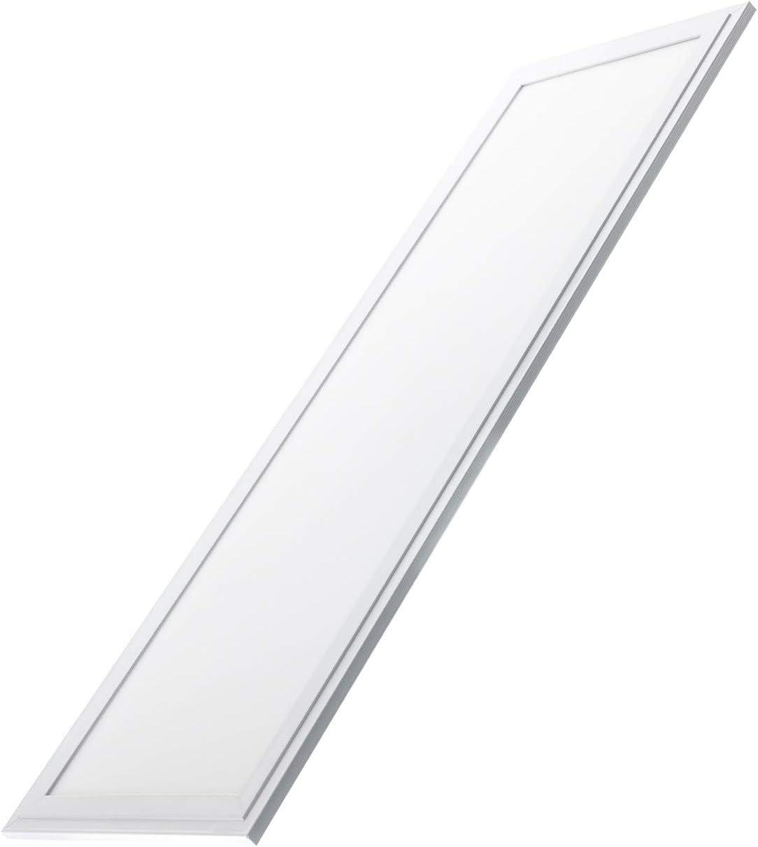 LEDKIA LIGHTING Panneau LED Slim 120x30cm 40W 5200lm High Lumen Blanc Chaud 2800K 3200K