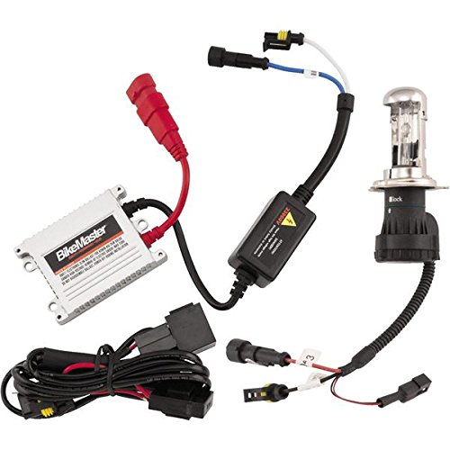 BikeMaster HID Light Kit - Blue 8000K H7
