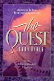 quest niv study bible - The Quest Study Bible: New International Version
