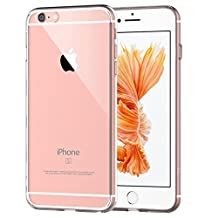 iPhone 6s Case, JETech Apple iPhone 6s /6 case 4.7 Bumper Cover Shock-Absorption Bumper and Anti-Scratch Clear Back for iPhone 6 4.7 Inch (Crystal Clear)