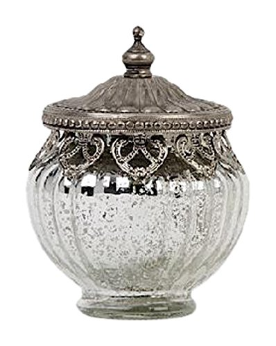 Glass Accent Jar - 9