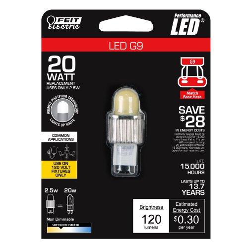 Feit G9/LED LED G9 Base, 120-volt