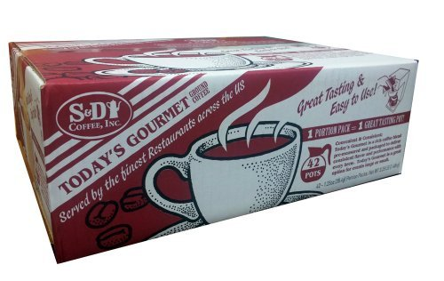 - S&D Coffee Inc. 42 Packages for 42 Pots of Great Coffee by S&D Coffee Inc